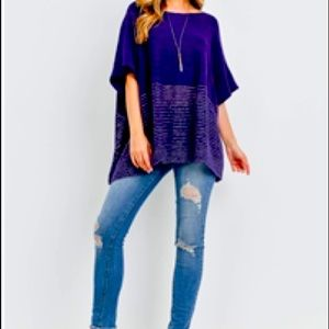 NWT Top! LOVELY COLOR! ONE Piece Says It ALL!